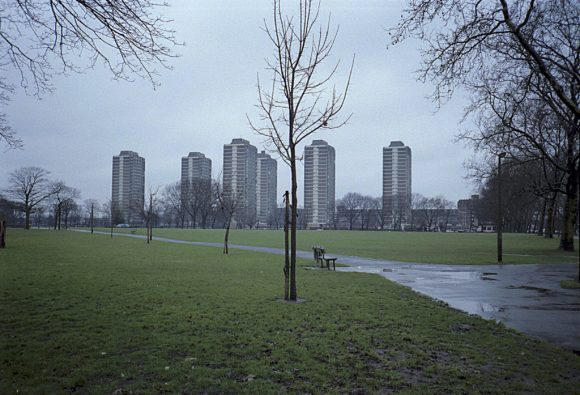 The Nightingale Estate on Hackney downs